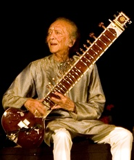 Celebrated Indian sitarist and composer Ravi Shankar