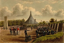 Royal Artillery repository exercises, 1844