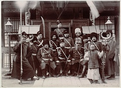 Russian officers in Manchuria during the Boxer Rebellion