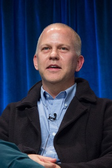 Murphy at the PaleyFest 2013 panel for The New Normal