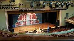 The Grand Ole Opry, which was recorded in Nashville's Ryman Auditorium from 1943 to 1974, is the longest-running radio broadcast in US history.[254]