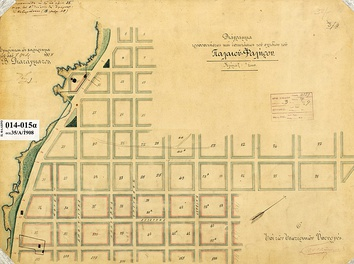 A simple grid plan from 1908 of Palaio Faliro.
