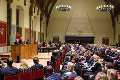 Joint session of the States General in the Ridderzaal, 2013
