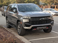 2021 Chevrolet Tahoe Z71 package (Photographed in Raleigh, North Carolina)