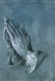 Praying Hands, pen-and-ink drawing (c. 1508)