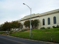 View of the Austin History Center
