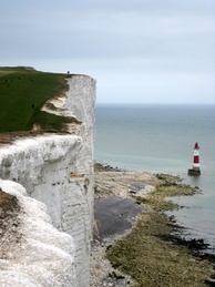 Beachy Head and lighthouse, Eastbourne, East Sussex