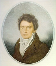 Beethoven in 1814; portrait by Louis-René Letronne [fr]