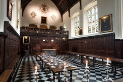The Main Hall at Christ's College