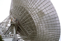 70m DSS-43 telescope at the Canberra Deep Space Communication Complex