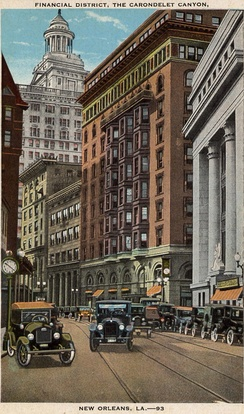 Financial district, 1920s