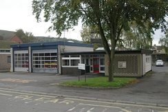 The town's fire station on Sandford Avenue