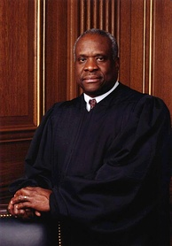 Clarence Thomas, class of 1971, former trustee and current Supreme Court Justice