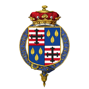 Coat of arms of Granville Leveson-Gower, 1st Marquess of Stafford, KG, PC