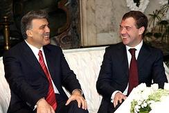 Дмитрий Медведев и Абдулла Гюль, 13 февраля 2009 г.