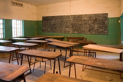 Classroom at Armitage High School