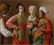 Georges de La Tour, The Fortune Teller, c.1630