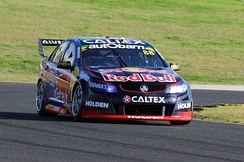 Whincup took his 100th championship race win at the 2016 Red Rooster Sydney SuperSprint.