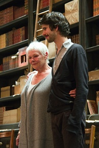 Whishaw with Judi Dench in Peter and Alice, at the Noël Coward Theatre in May 2013