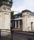 Woolwich Dockyard entrance gate