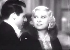 with Cary Grant in I'm No Angel (1933)