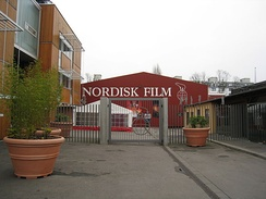 Main gate of Nordisk Film in 2008