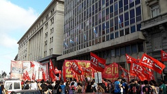 Workers' Left Front in Argentina in December 2017