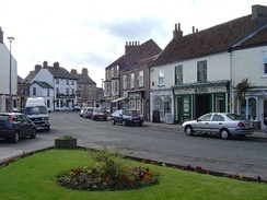 Pocklington Market Place in 2005