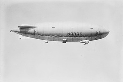 """Norge"" airship in flight 1926"