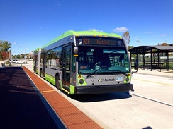 CTfastrak was built to connect the suburbs to Hartford.
