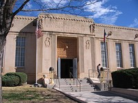 Panhandle-Plains Historical Museum in Canyon, Texas.