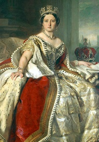 Portrait of Queen Victoria by Franz Winterhalter, 1859. In 1857, Victoria selected Ottawa as the capital of the Province of Canada.