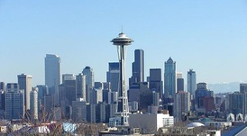 Seattle, the largest metropolitan area in the Northwest