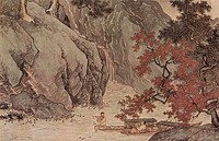 Tang Yin, A Fisher in Autumn, 1523 AD., China