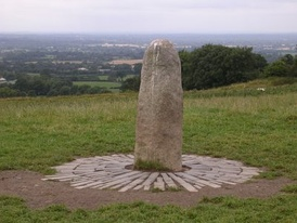 High Kings were traditionally installed on the Hill of Tara. The Lia Fáil (pictured) shouted the rightful king's name when he placed his foot on it, according to tradition.