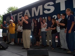 A Teamsters gathering at the YearlyKos 2007 convention