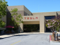 Tesla Motors in Palo Alto