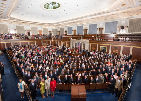 Members of the U.S. House of Representatives, July 22, 2015