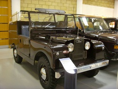 1953 Land Rover Series I 86 in, Royal Review Vehicle 'State IV'