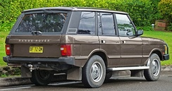 Later Range Rover five-door
