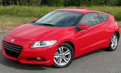 The Honda CR-Z hybrid was launched in Japan in February 2010, followed by the US in August 2010.[76]