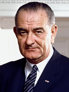 January 20: Lyndon B. Johnson begins full term as President of the United States