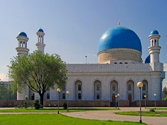 The Central Mosque of Almaty
