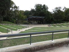 Amphitheater in Veterans Park, Albany