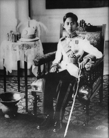 Photograph of the King in 1939