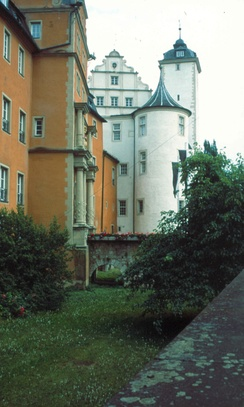 Castle of the Teutonic Order in Bad Mergentheim