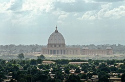 Basilica of Our Lady of Peace in Yamoussoukro