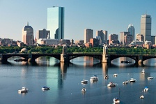 Boston, the most populated city in Massachusetts and New England and the third most populated city in the Northeast