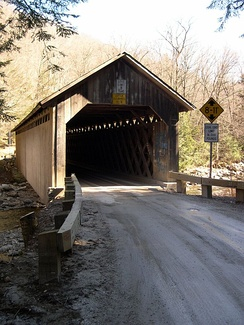 Brown Covered Bridge, in Rutland County