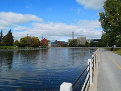 The Capital Pathway is a multi-use trail interlinking many parks, waterways, and sites throughout the National Capital Region